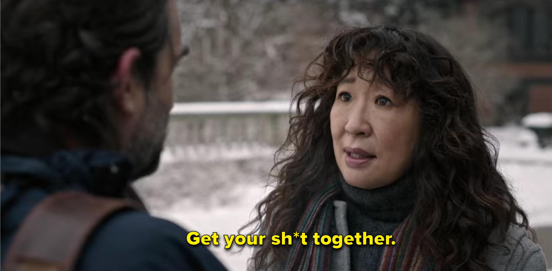 Ji-Yoon tells Bill to get it together