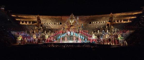 large, historic theater