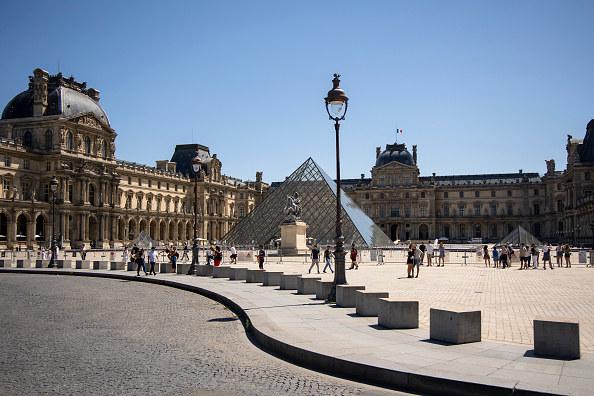 huge art museum