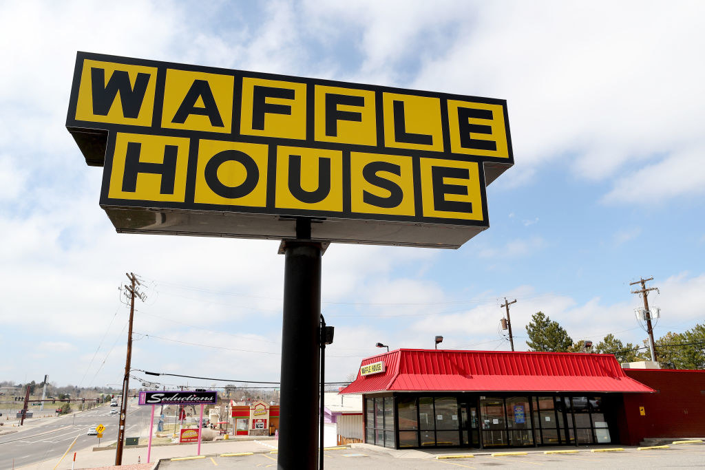 A Waffle House, standing proud