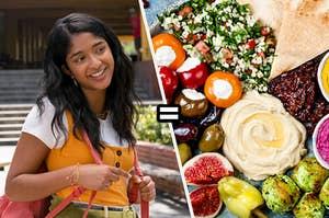 Devi equals Mediterranean food