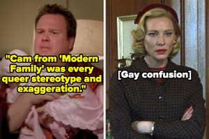 "Cam from ""Modern Family;"" Carol from ""Carol"""
