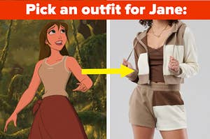 jane tarzan and new outfit