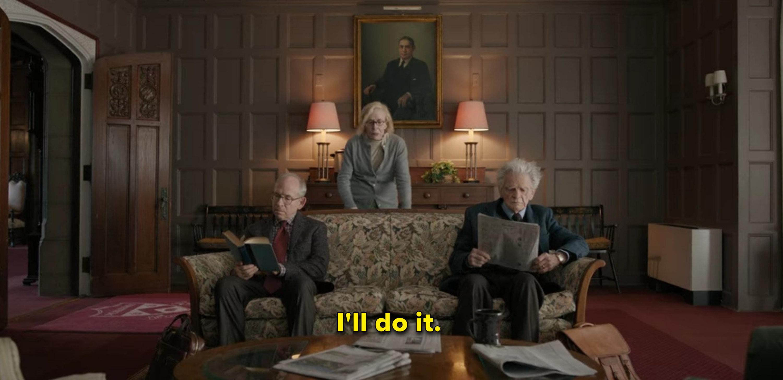 "Joan says she'll ""do it"""