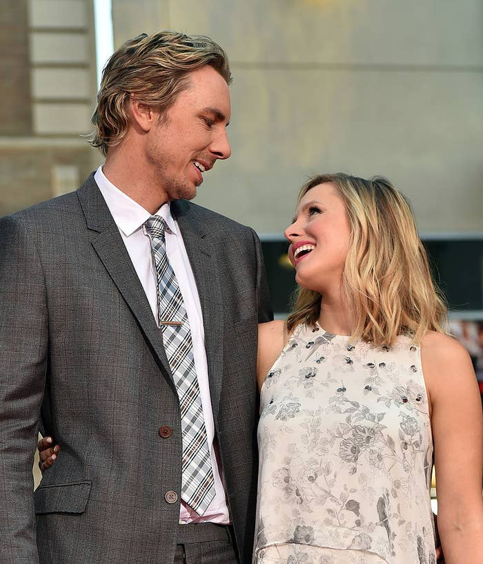 """Dax Shepard and Kristen Bell arrive at the premiere of Warner Bros. Pictures' """"This Is Where I Leave You"""""""
