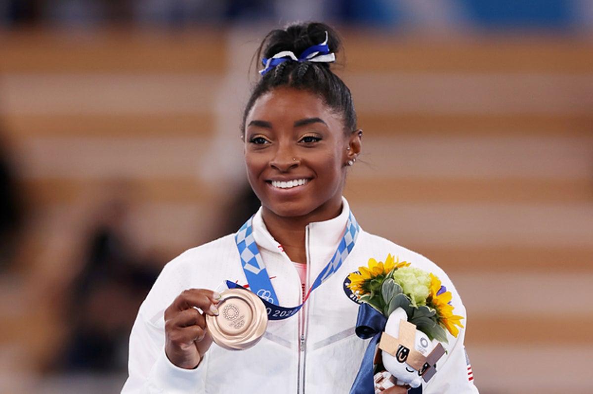 Simone Biles Won A Bronze Medal In Her Olympic Return