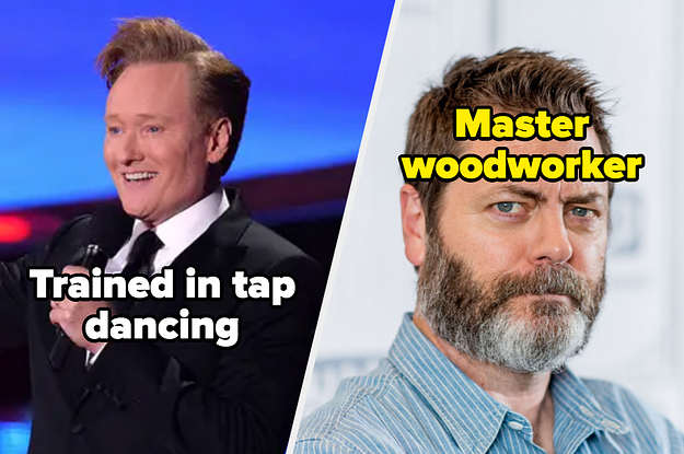 17 Famous People With Impressive Talents That Have Absolutely Nothing To Do With Why They're Celebrities