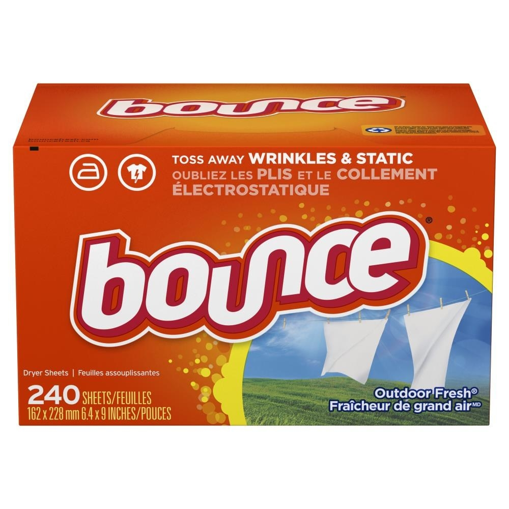 An image of a pack of 240-count dryer sheets