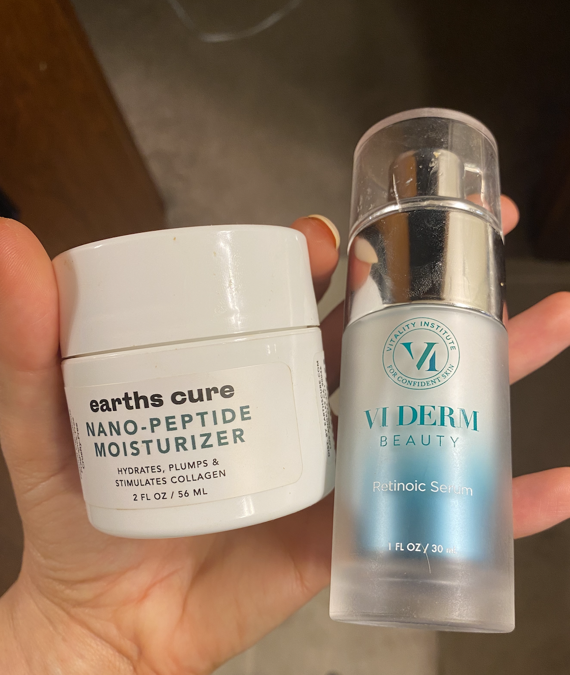 Photos of the two products