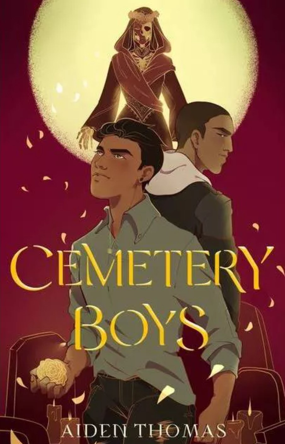 The cover of Cemetery Boys by Aiden Thomas