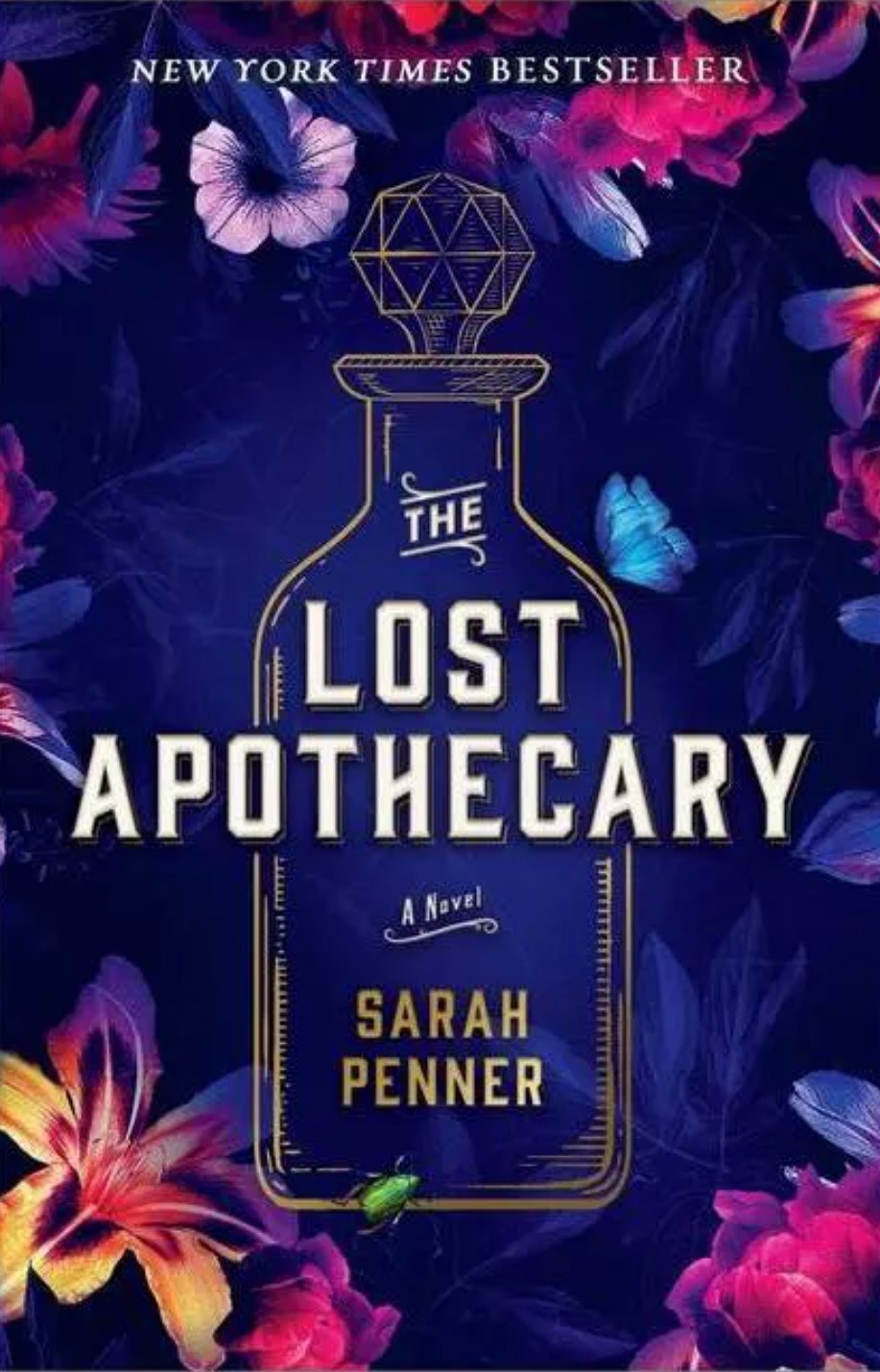 The cover of The Lost Apothecary by Sarah Penner