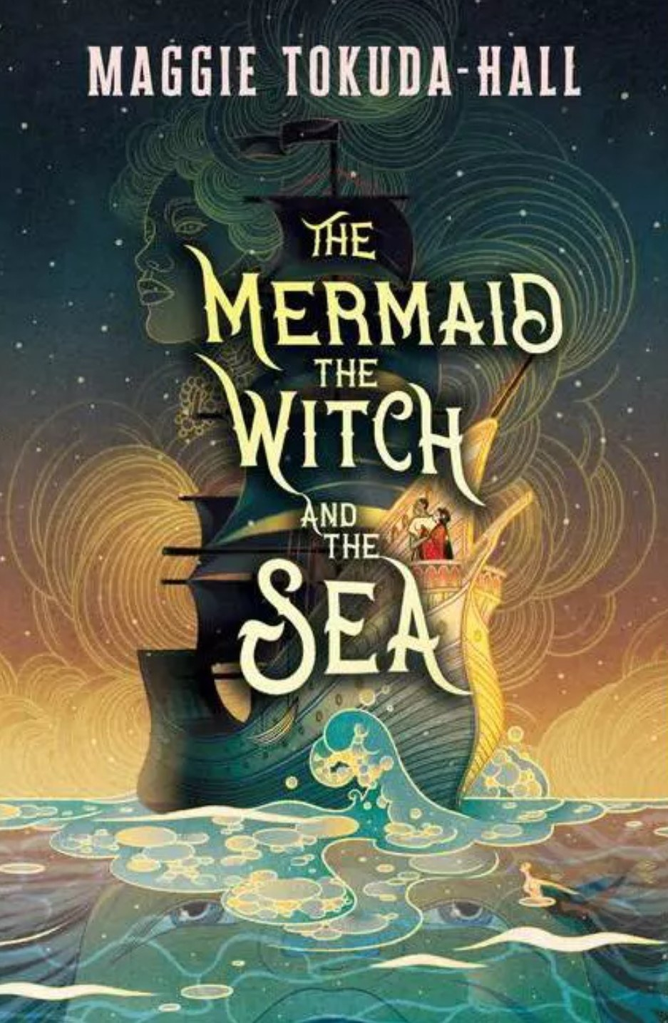 The cover of The Mermaid, The Witch, And The Sea by Maggie Tokuda-Hall