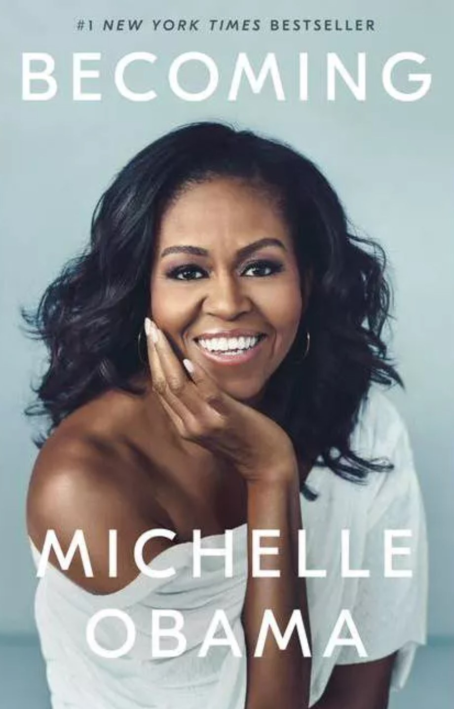 The cover of Becoming by Michelle Obama