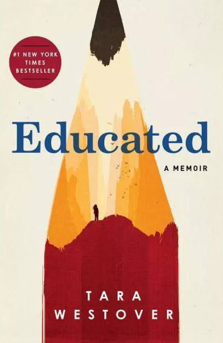 The cover of Educated by Tara Westover