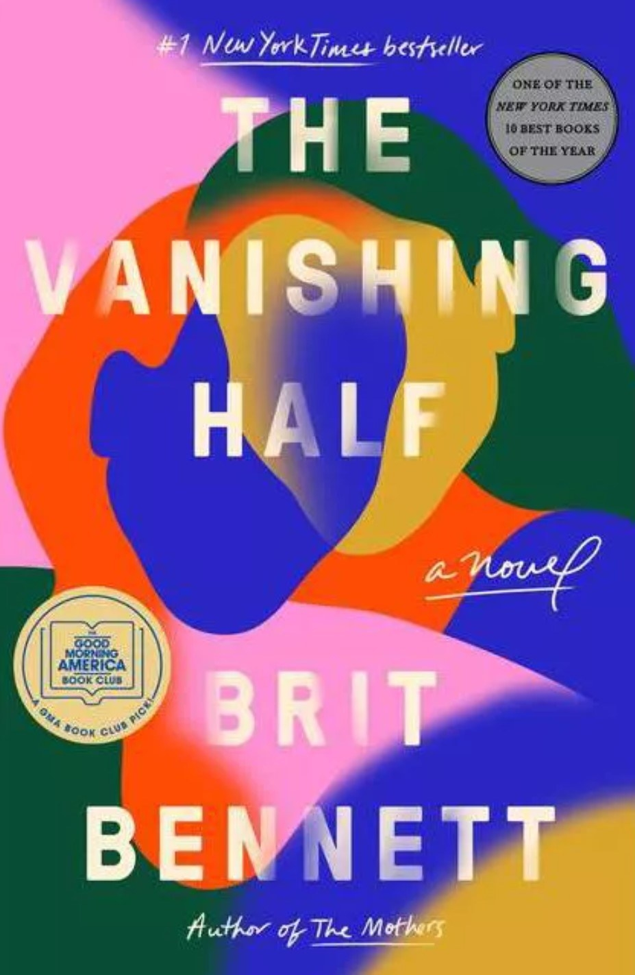 The cover of The Vanishing Half by Brit Bennett