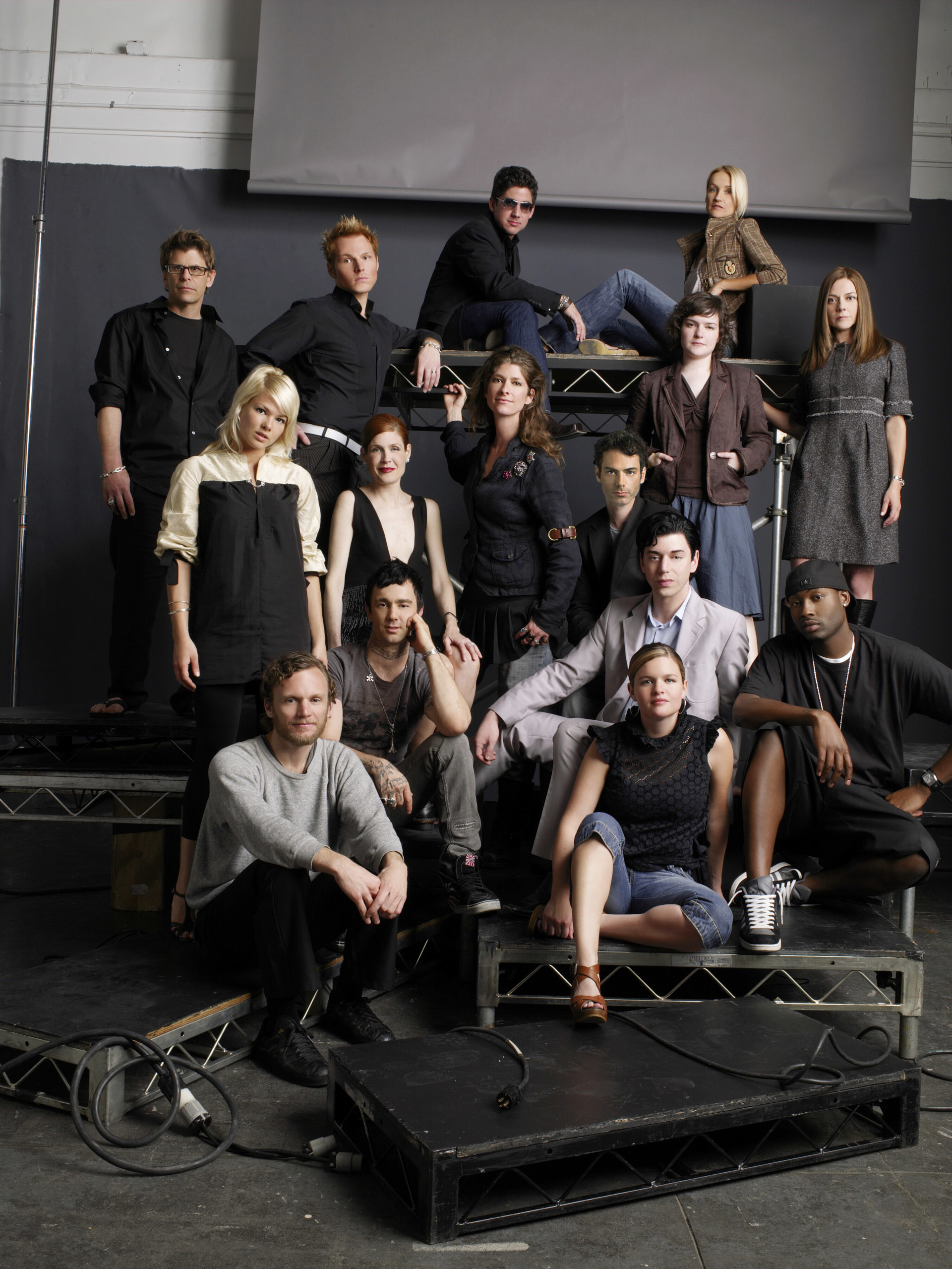 The contestants from season 3