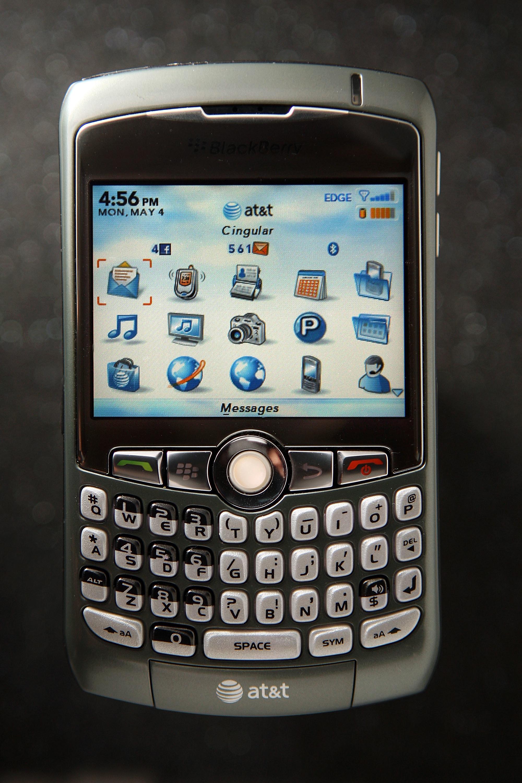 A Blackberry Pearl