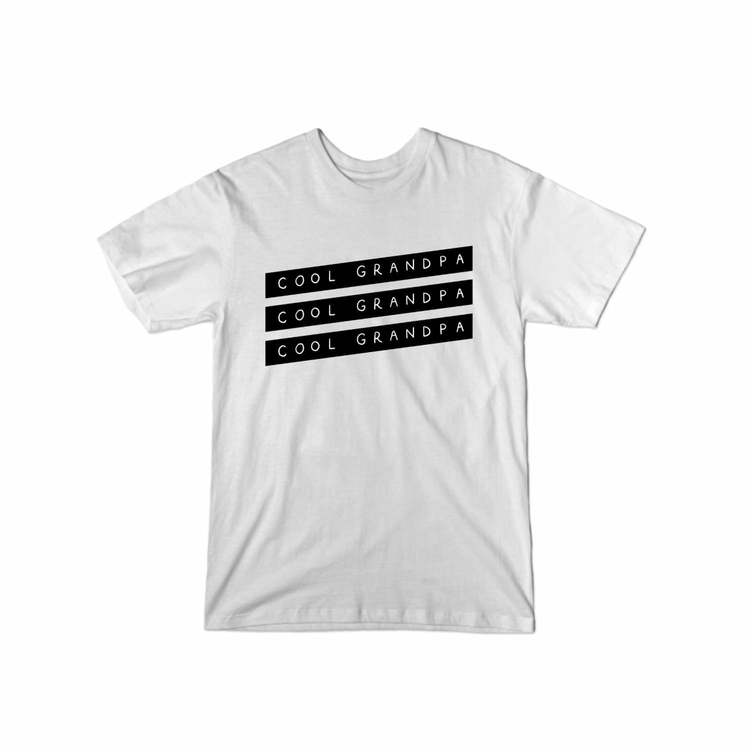The T-shirt in the color White