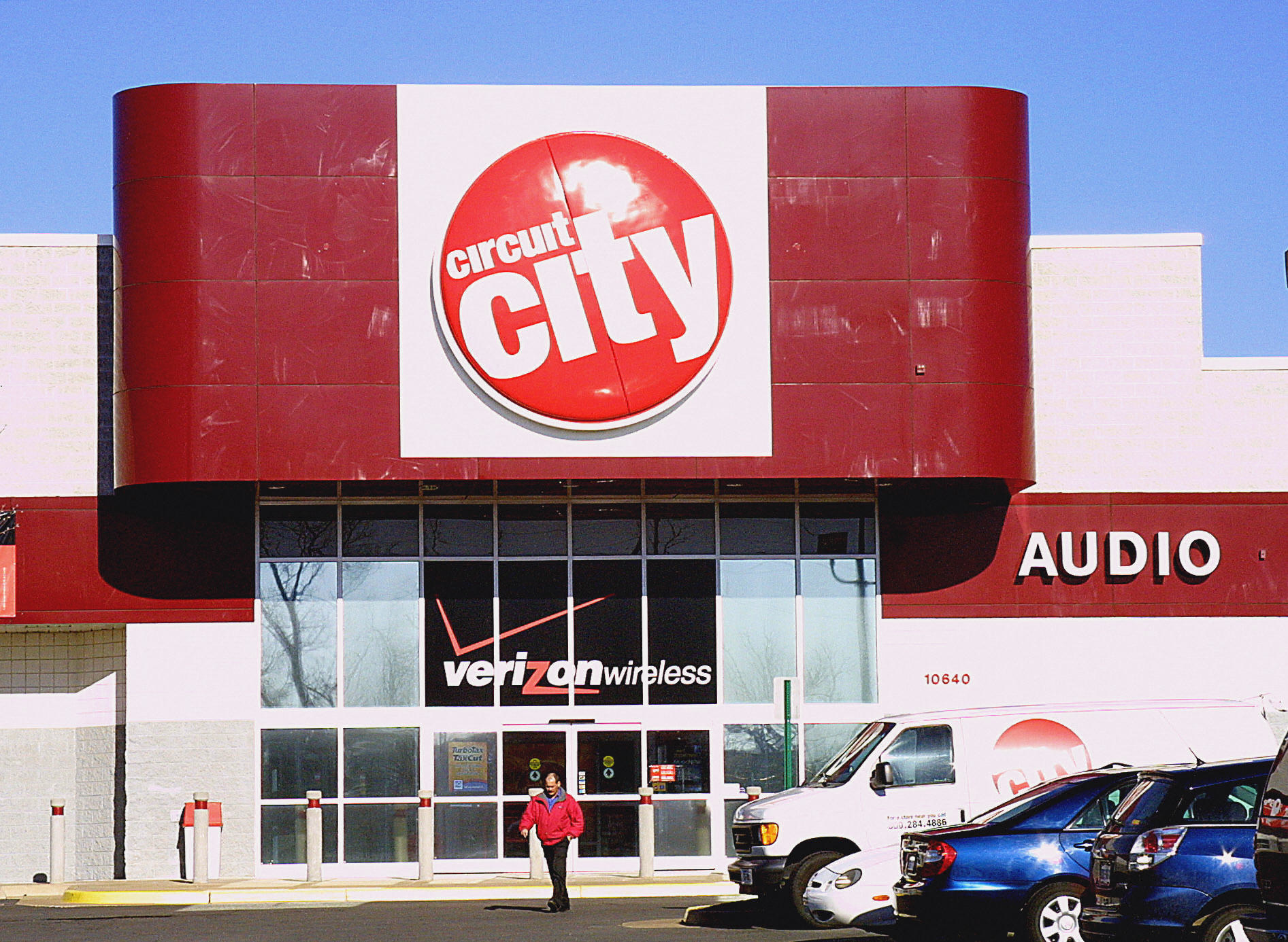 A Circuit City storefront