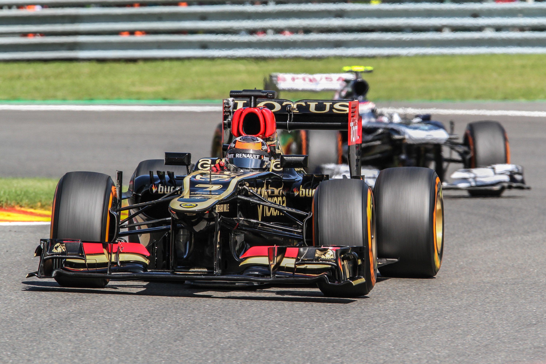 Kimi Raikkoken driving for Lotus