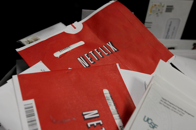 Netflix DVD packages