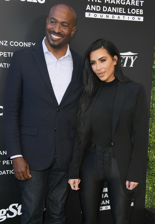 Van Jones and Kim Kardashian