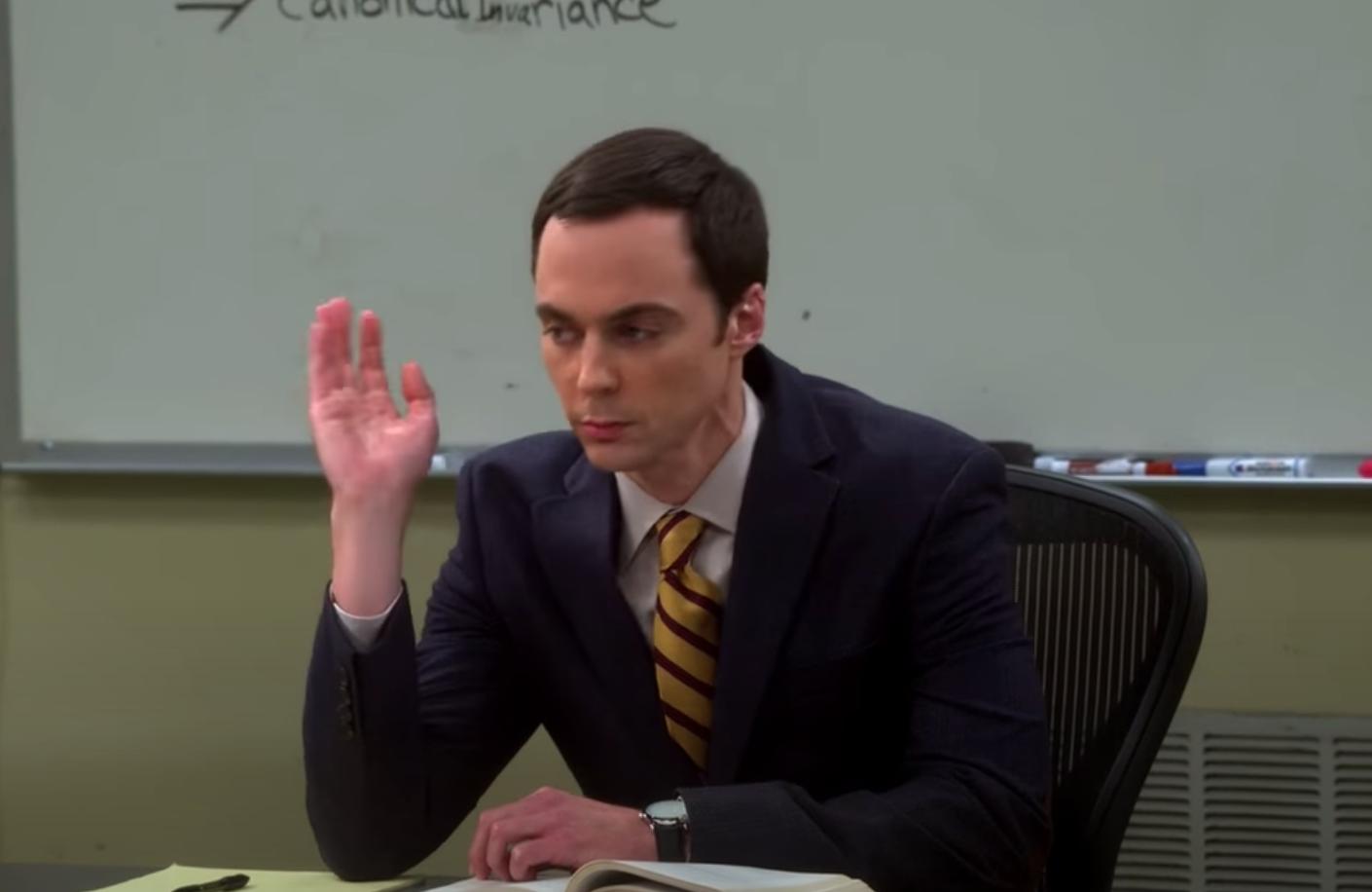 """Sheldon from """"Big Bang Theory"""""""