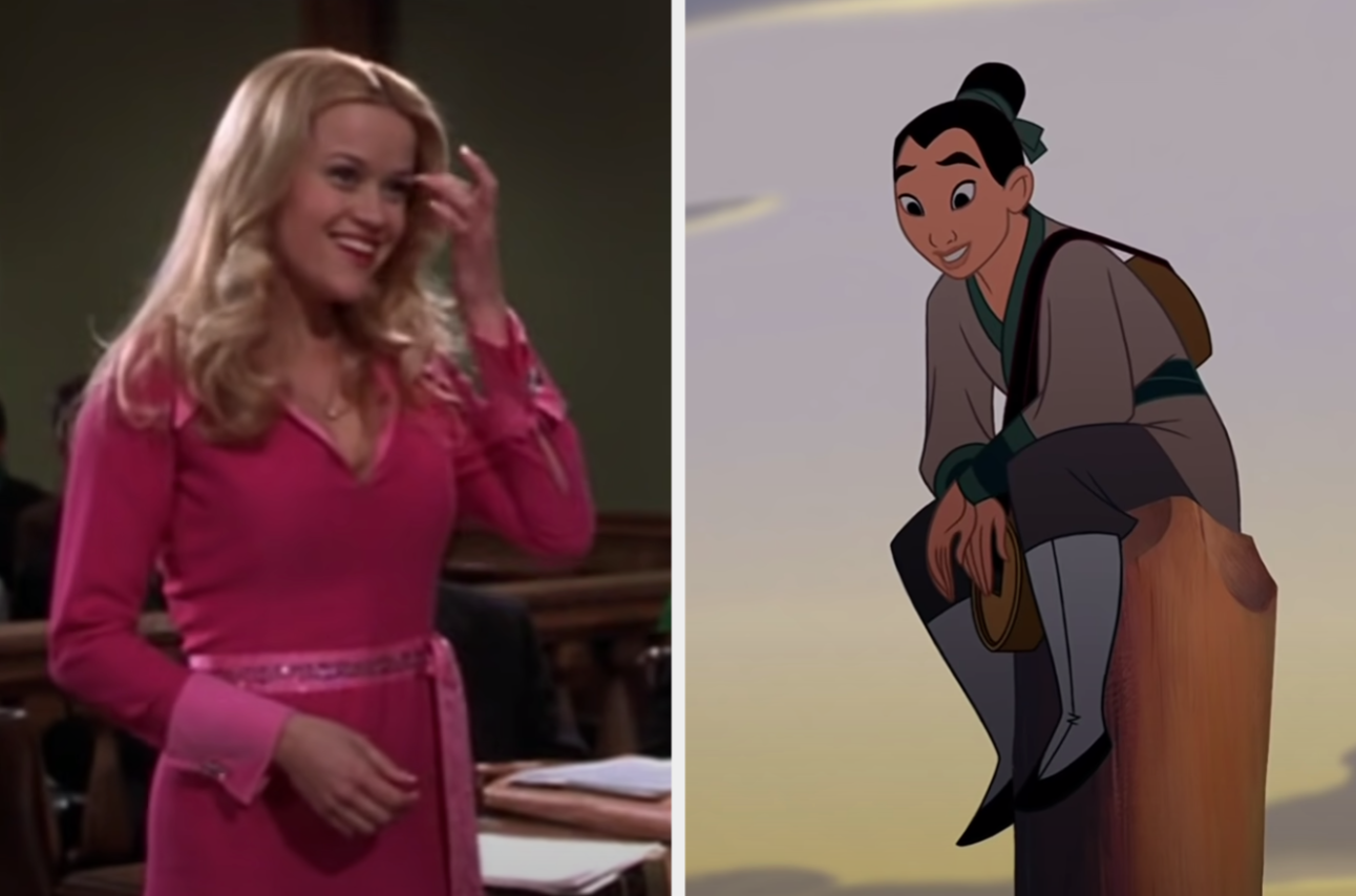 Legally Blonde and Mulan