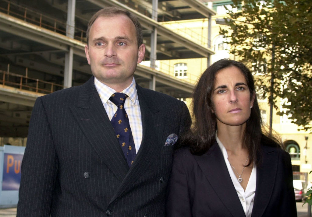 Charles and Diana arrive to their court date