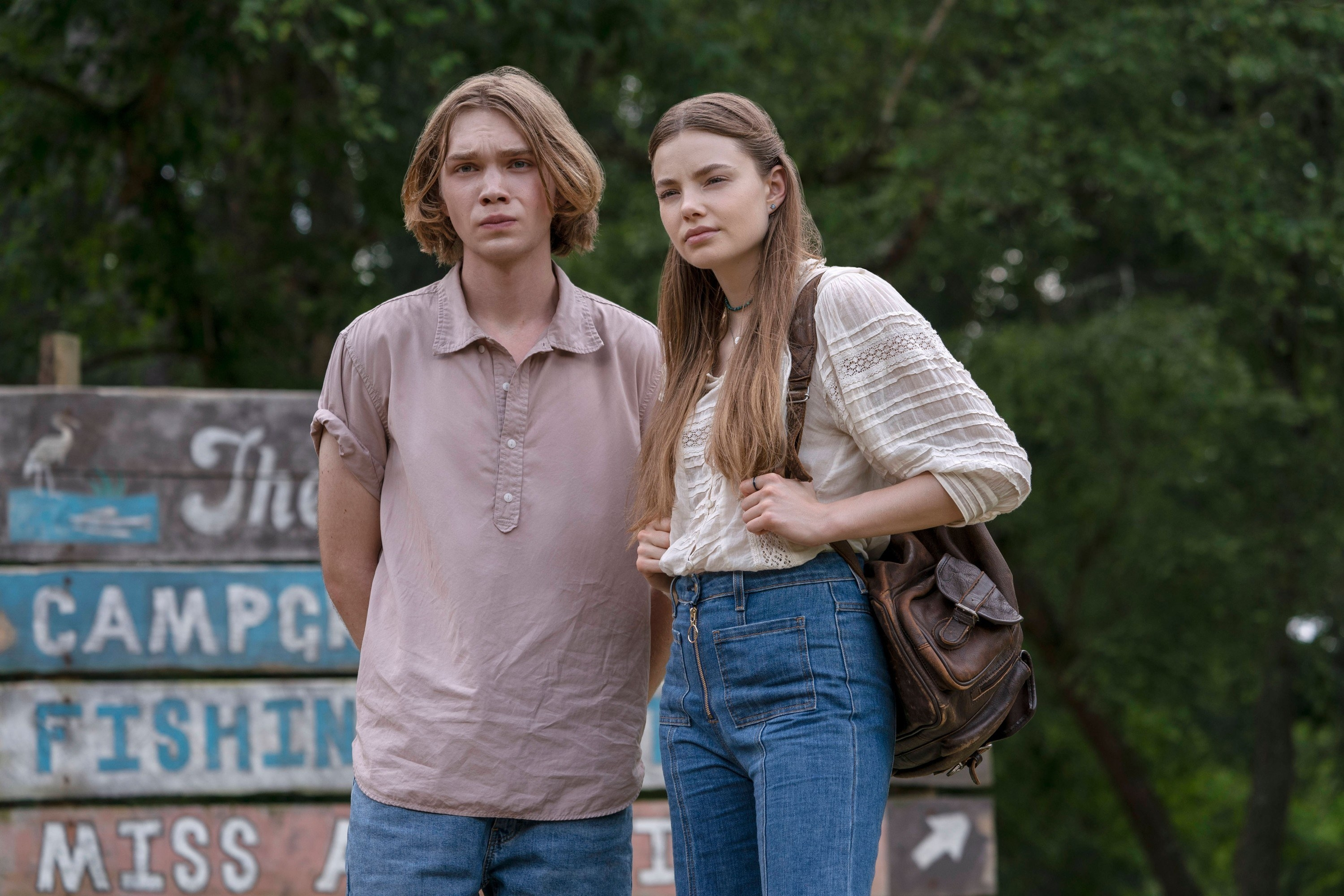 Charlie Plummer and Kristine Froseth as Pudge and Alaska