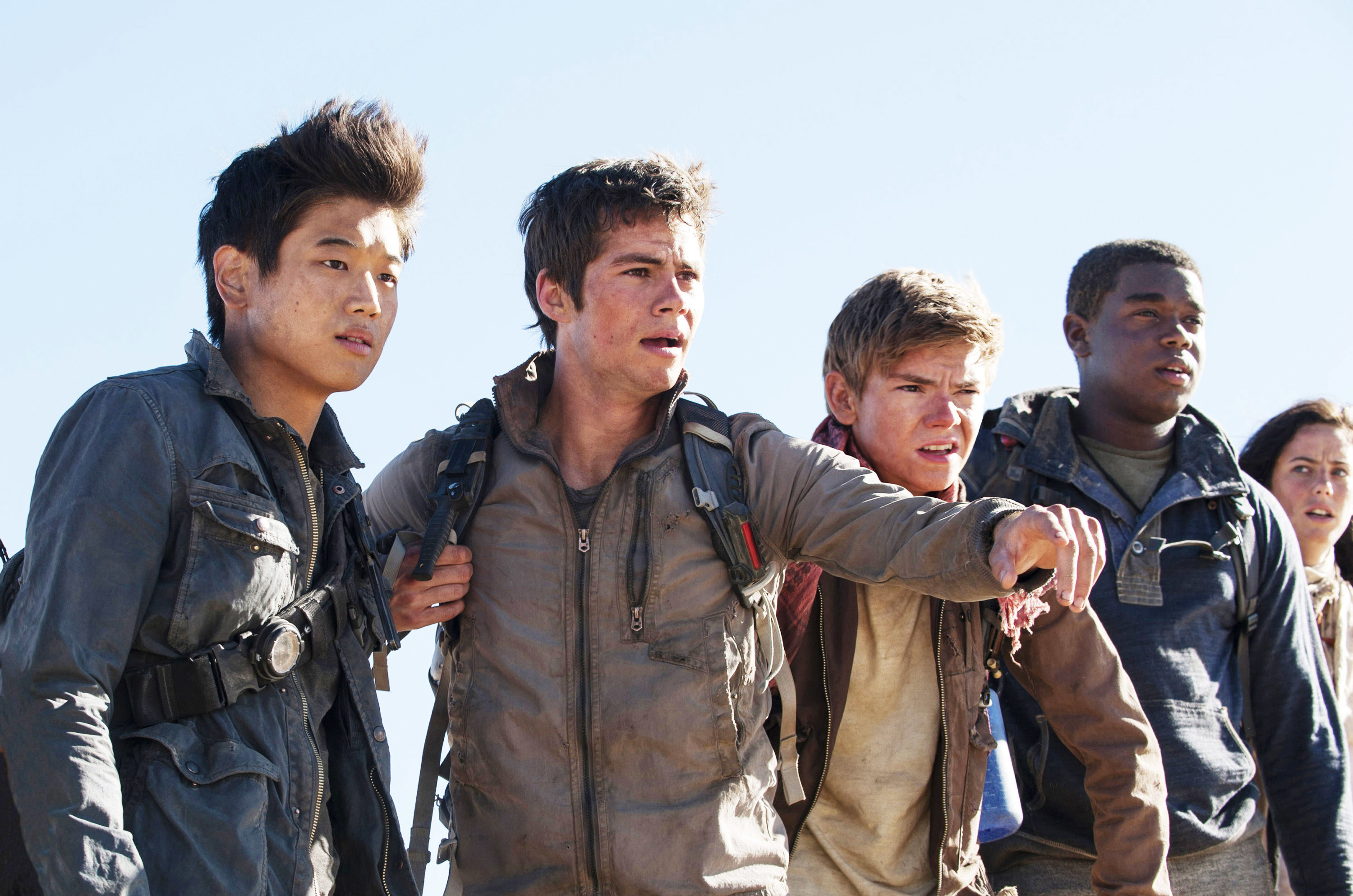 Dylan O'Brien and other main characters