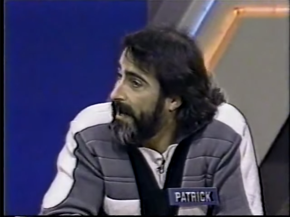 The fake Patrick Quinn on the show