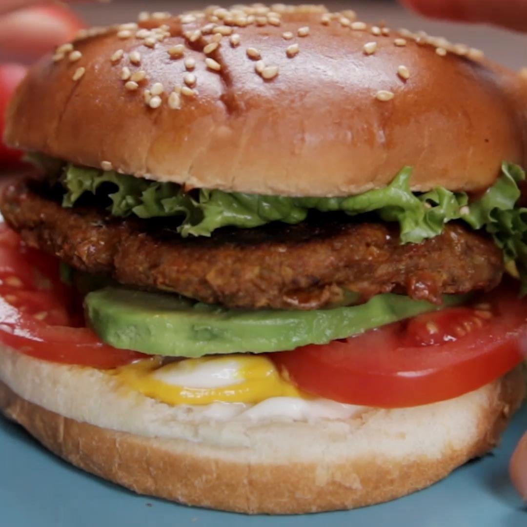 Spicy Masala Veggie Burgers