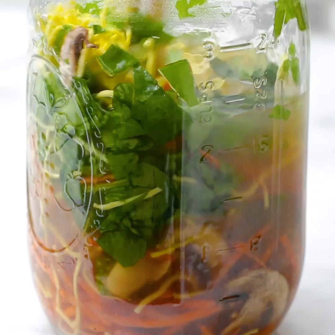 Healthier Instant Noodles In A Jar