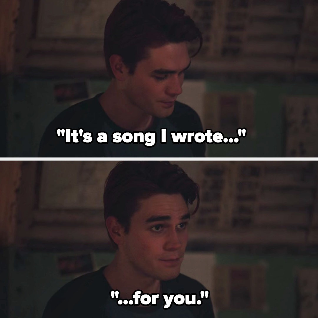 """""""it's a song i wrote...for you"""""""