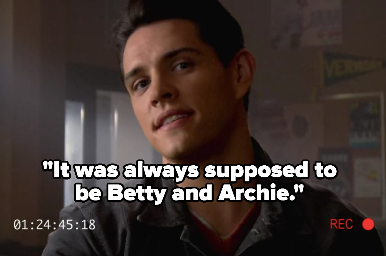"""Kevin: """"It was always supposed to be Betty and Archie"""""""