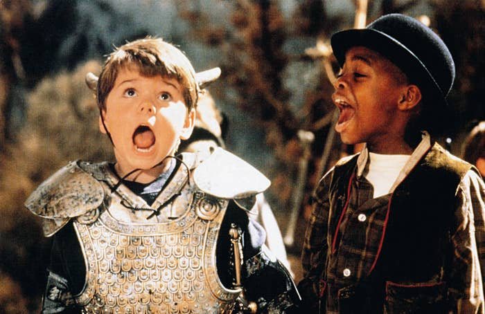 Travis Tedford and Ross Bagley in The Little Rascals