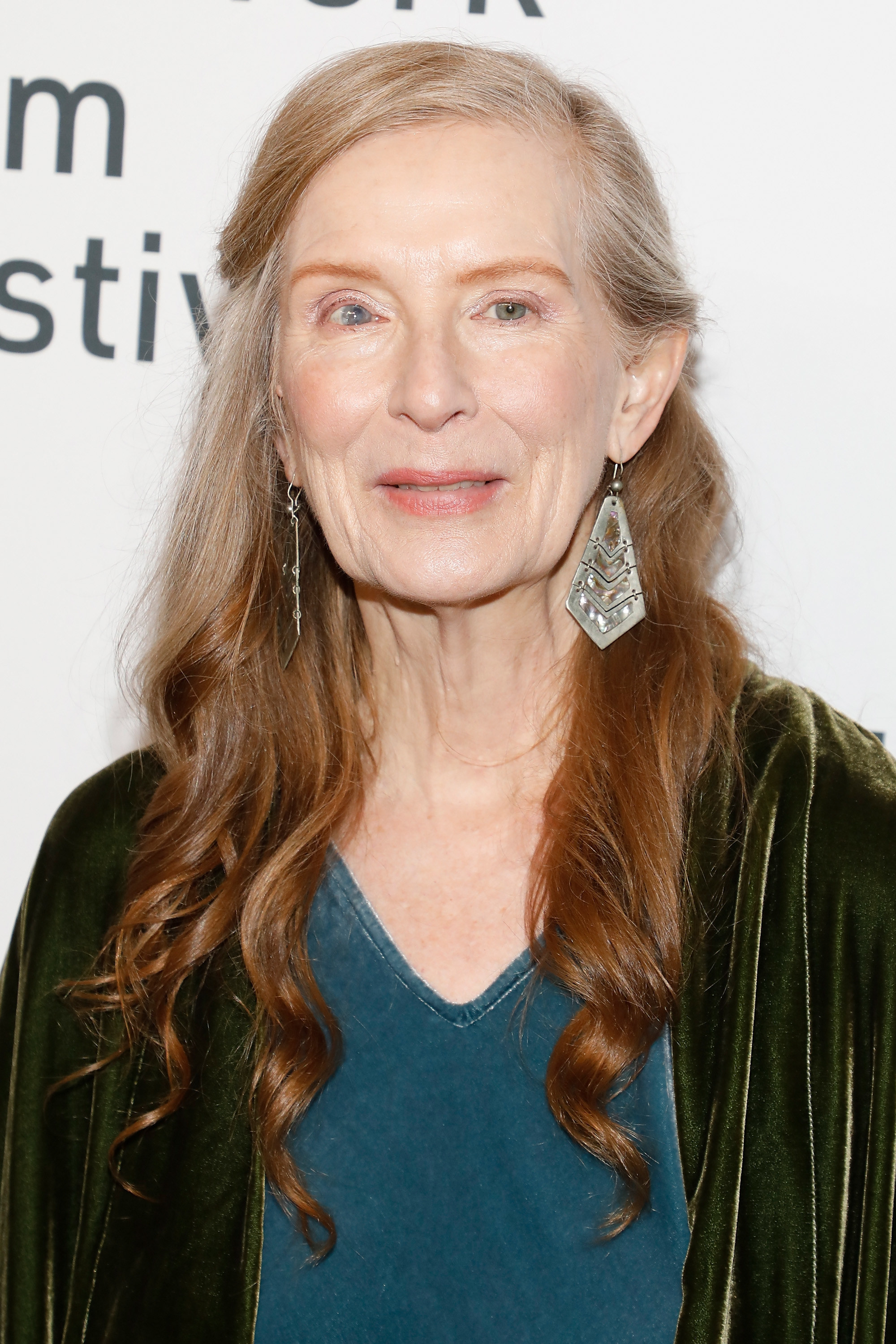 Frances Conroy on the red carpet