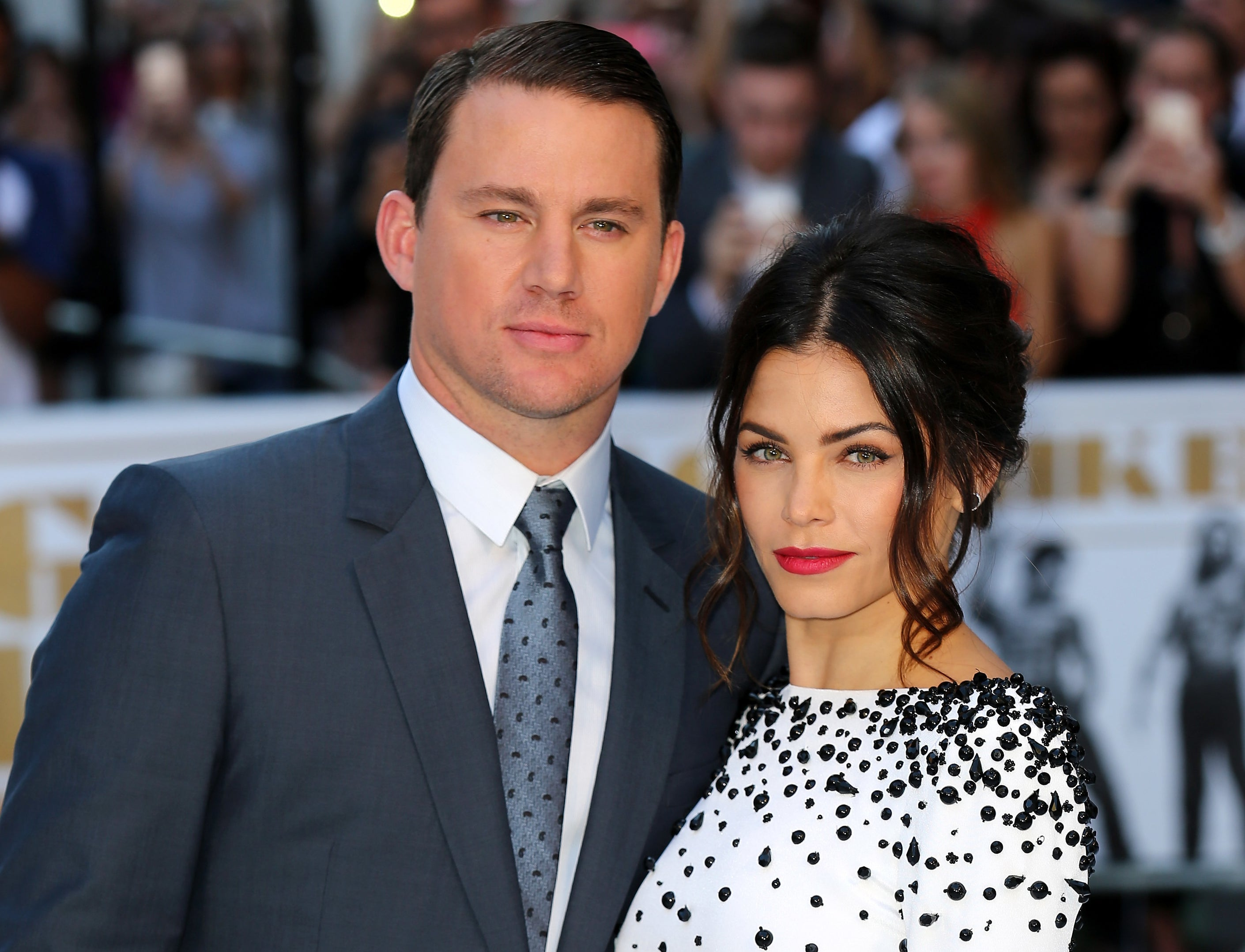 Jenna and Channing attend an event together before their split
