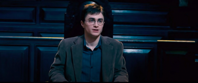 """Harry on trial in """"Harry Potter and the Order of Phoenix"""""""