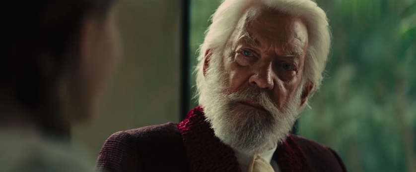 """President Snow from """"The Hunger Games"""""""