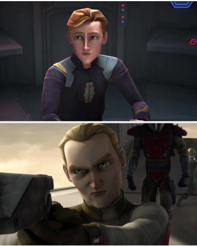 Korkie Kryze and Obi-Wan Kenobi