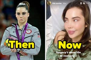 mckayla maroney then and now