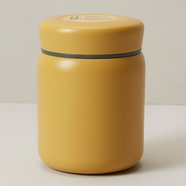 an insulated thermos