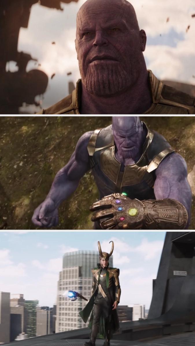 Thanos and Loki