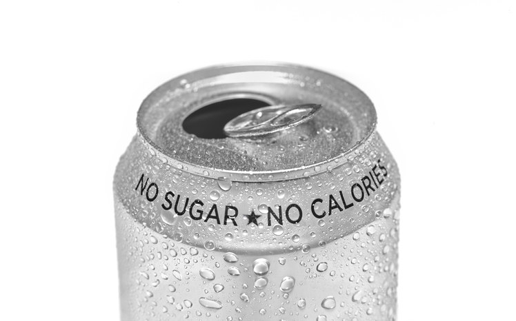 image of diet soda can