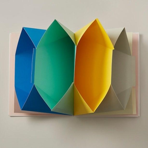 vibrant folders inside of a folder