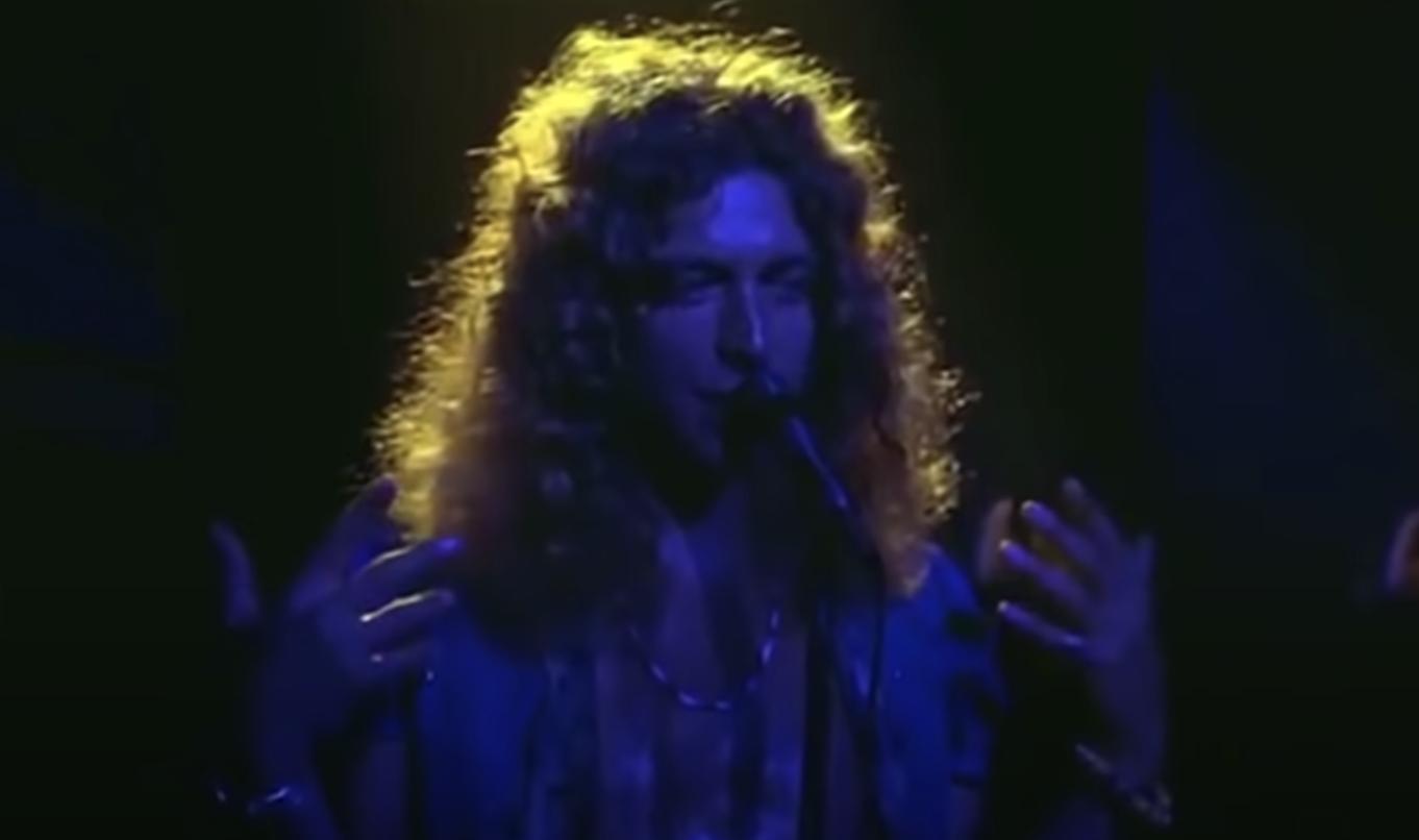 Robert performing onstage