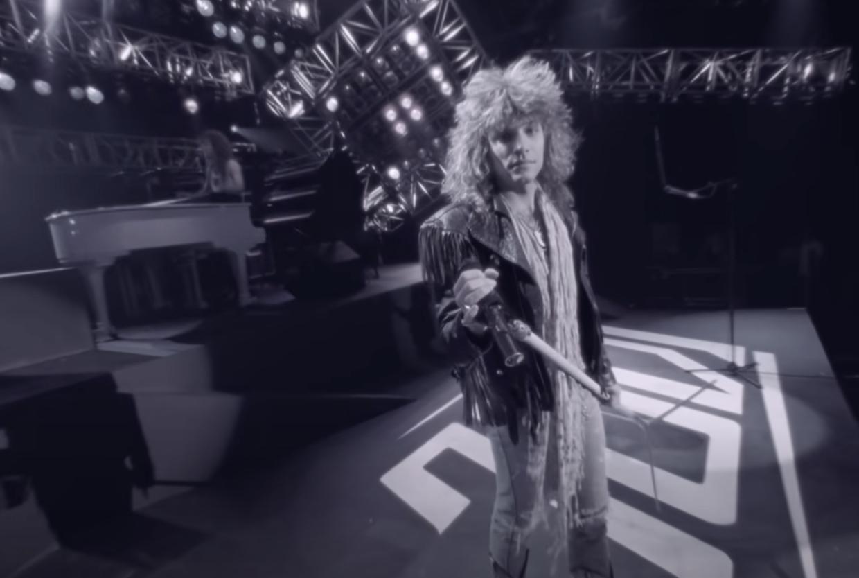 Jon Bon Jovi onstage
