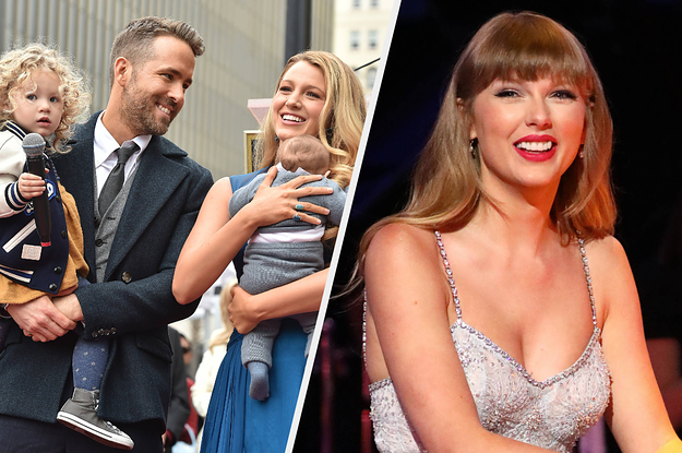 Here's How Ryan Reynolds And Blake Lively Felt About Taylor Swift Using Their Children's Names In Her Music